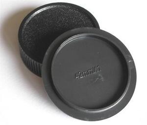 PENTAX PRAKTICA ZENITH M42 SCREW BODY AND REAR LENS CAP SET FOR SLR CAMERAS