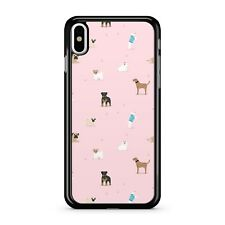 Mixed Breaded Fabulous Cute Playful Cuddly Dogs Pattern 2D Phone Case Cover