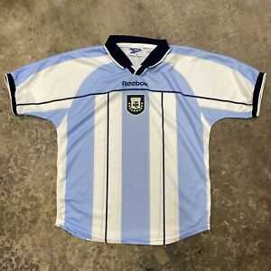 Vintage Reebok Argentina National Team Soccer Jersey Men's Medium