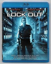 BLU-RAY + DVD / LOCK OUT (LUC BESSON) GUY PEARCE , MAGGIE GRACE / COMME NEUF