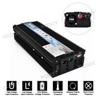5000W Power Car Converter power inverter DC 12V to AC 220- 240V Charger USB Port