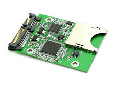 SD SDHC Secure Digital MMC to SATA Converter Adapter Winodws Mac OS Linux