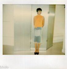 POL089 Polaroid Photo Vintage Original mode fashion mannequin model femme woman