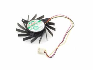 Protechnic Magic MBT7012LR-O20 70mm Gpu Fan 12V 0.12A 3-Pin 9600GT 9800GT