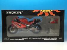 MINICHAMPS HONDA VTR 1000 ROSSI EDWARDS WINNER 8H SUZUKA 2001 122 011446 1/12