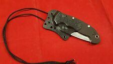 Custom Manix2 XL KYDEX Auto-Sheath BLACK(sheath Only)