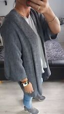 Cardigan womens ladies girls size 8/10 grey