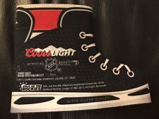 Coors Light NHL Hockey Skate Can Cooler Koozie