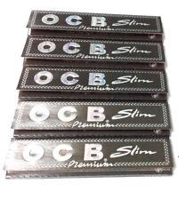 Original Ocb Premium Slim Noir Papier à Rouler 10 Carnets