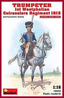 MIN16033 - Miniart 1:16 - Trumpeter 1st Westphalian Cuirassiers Regiment 1813