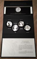 2017 American Liberty 225th Anniversary Silver Four Medal Set WITH OGP AND COA