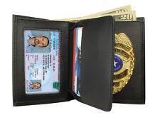 PS Products Pscwpb Concealed Carry Badge and Wallet Black