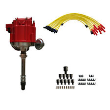 Chevy BBC 350 454 HEI Distributor Wires Ignition Combo Kit for 5.7L GM08
