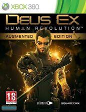 Deus Ex Human Revolution Augmented Edition XBOX 360 NUOVO