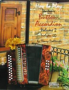 Diatonic Button Accordion Method Book & CD Vol. 2
