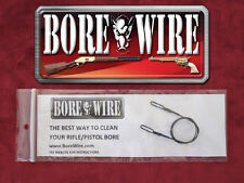 3 Pack - Bore Wire HD Pistol Bore Cleaning Tool - Stainless Steel - All Calibers
