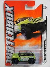 Matchbox 2012 Mbx Arctic Jeep Willys Concept #4/10 Green W+