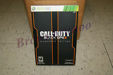 Call of Duty Black Ops II 2 Hardened Edition Xbox 360 NEW