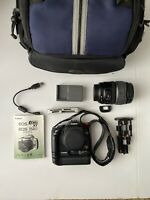Canon Rebel EOS Digital Rebel XT 350D - BLACK- EFS 17-85 mm lens - SOLD AS IS