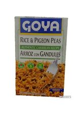 Goya Rice And Pigeon Peas Authentic Caribbean Recipe Arroz Con Gandules 7 Ounces