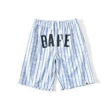 Cool Striped Breathable A Bathing Ape Bape Loose Casual Sport Short Pants Shorts