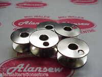 5 x BOBBINS 22mm x 10mm 203470 SINGER 111W 212W 153W  INDUSTRIAL SEWING MACHINE