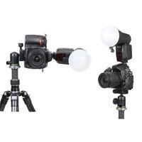 Speedlite Flash Light Accessories Kit + Diffuser Ball +Honeycombs Grid Reflector