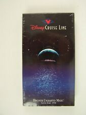 Disney Cruise Line Uncharted Magic Spring 1998 Vhs New Sealed