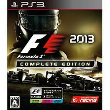 PS3 Import Japan PlayStation 3  F1 FORMULA ONE F1 F1 2013 Complete Edition