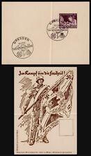 Germany 1942 - Commemorative Card Dresden E294
