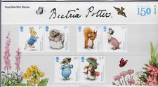 2016 Beatrix Potter Presentation With Mini Sheet Pack No 529 mint condition