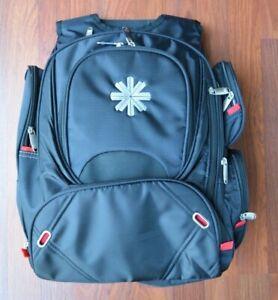 "Leeds Elleven Checkmate TSA Checkpoint Laptop Backpack Black 18"" x 14"" x 8"""