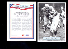 "1992 AW DICK ""NIGHT TRAIN"" LANE Detroit Lions Greats of the Game GOTG Card"
