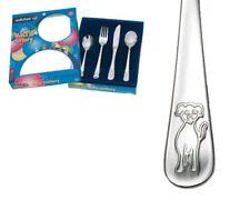 Wiltshire 4 Piece Puppy Cutlery Set 18/10 Stainless Steel - Children, Kids