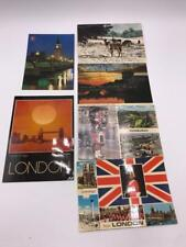 Vintage Lote de 6 Recuerdo Tarjetas Postales United Kingdom Irlanda