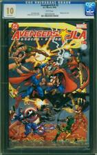 AVENGERS JLA 2 CGC GEM MINT PERFECT 10 WHITE PGS 1 3 spiderman BATMAN SUPERMAN