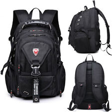 "SWISSGEAR Waterproof Backpack Rucksack Travel Sports Schoolbag 15.6"" Laptop Bag"