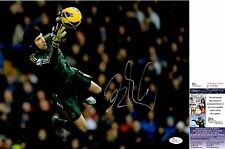 Petr Cech Signed 11x14 Photo w/ JSA COA #P17750 + PROOF Chelsea Arsenal Czech