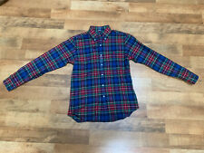 NWT Polo Ralph Lauren Mens Performance Flannel Buttondown Shirt Original $99.99