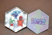 Blue's Room Nick Jr. Blue Roary Polkadots Christmas Ornaments NEW