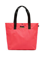 Victoria's Secret PINK Tote Bag Neon Coral NEW SEALED PACKAGE