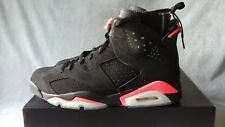 "2014 Nike Air Jordan 6 VI Retro ""Black/Infrared"" 384664-023 Size 12"