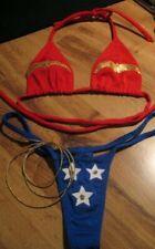 Wonder Woman Thong Bikini
