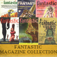 Fantastic Science Fiction Magazines ~ 175 SF Pulp Magazines Collection Data-DVD