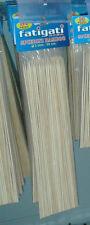 SPIEDINI IN BAMBOO 50 PZ stecchini legno ottimi prezzi utili x casa