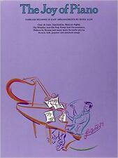 The Joy of Piano Songbook by Denes Agay Song Book