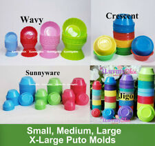 Puto, Kutsinta, Pichi Pichi Plastic Cup Molder...Different Brands and Style