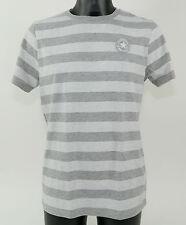Converse Camiseta a Rayas CT Parche T 12203 59 Blanco + Nuevo + TAMAÑO S - L