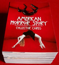 AMERICAN HORROR STORY - Complete Base Set (72 cards) - Breygent