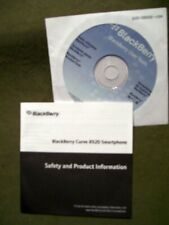 BlackBerry Curve 8520 Smartphone User Tools CD & Product Info Booklet